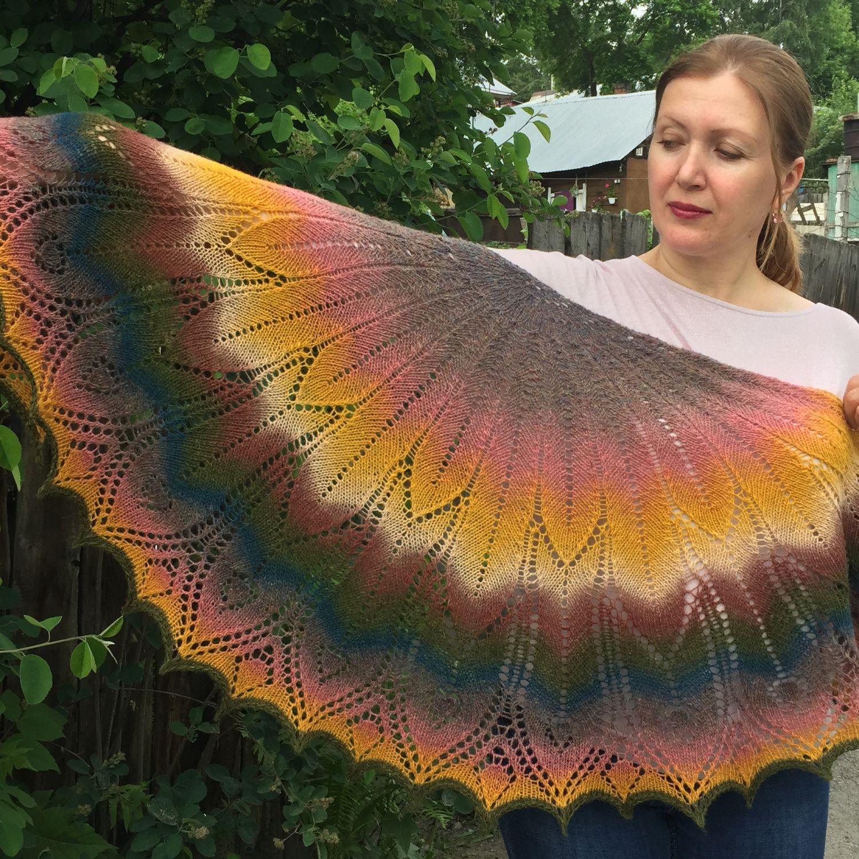 Wool shawl August, Shawls, Novosibirsk,  Фото №1