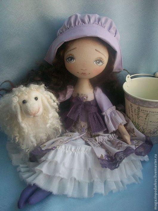 Коллекционные куклы ручной работы. Ярмарка Мастеров - ручная работа. Купить Лаванда. Handmade. Сиреневый, синтепух