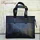 Bag genuine Python leather, Classic Bag, Moscow,  Фото №1
