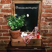 Для дома и интерьера handmade. Livemaster - original item Slate - with drawers. Handmade.