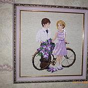 Картины и панно handmade. Livemaster - original item First love. Handmade.