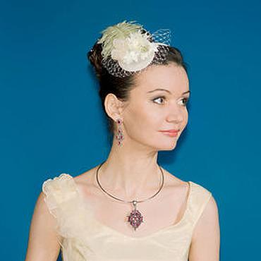 Аксессуары ручной работы. Ярмарка Мастеров - ручная работа Свадебные ободочки для невесты. Handmade.