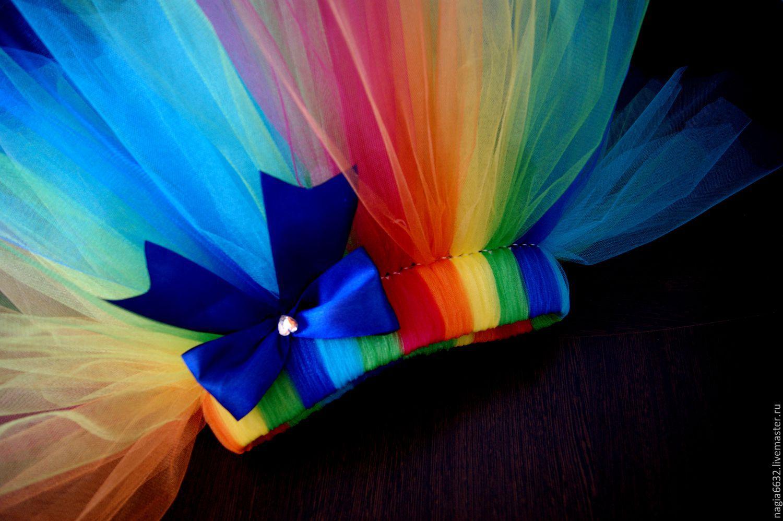 Разноцветная юбка туту