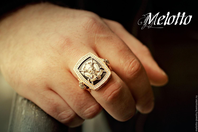 Фото мужские перстни с камнем ручной работы