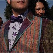 Одежда ручной работы. Ярмарка Мастеров - ручная работа Пиджак мужской Осенний Бит. Handmade.
