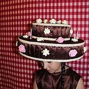 Работы для детей, ручной работы. Ярмарка Мастеров - ручная работа шоколадный торт. Handmade.