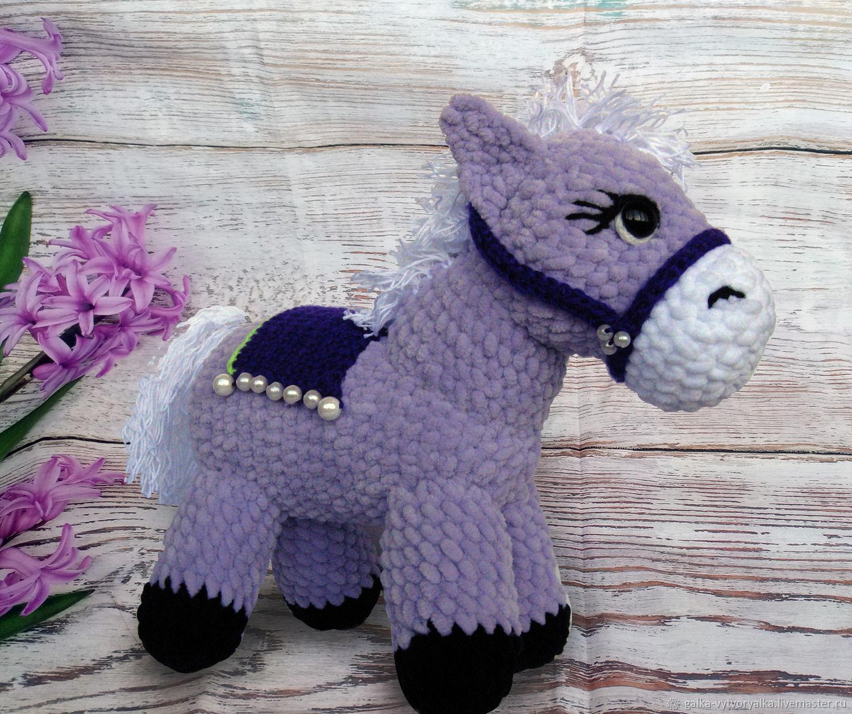 Игрушки животные, ручной работы. Ярмарка Мастеров - ручная работа. Купить Игрушка № 17: амигуруми лошадка пони. Handmade.