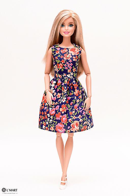 Платья для барби кукол купить в