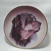 Винтаж handmade. Livemaster - original item Plates vintage: Wall plate