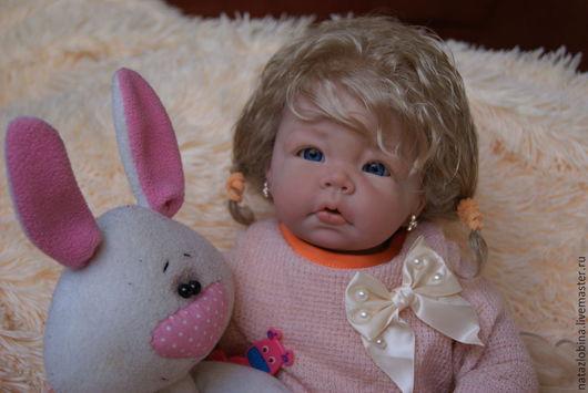 Куклы-младенцы и reborn ручной работы. Ярмарка Мастеров - ручная работа. Купить кукла реборн Лукерья. Handmade. Разноцветный, маттварниш