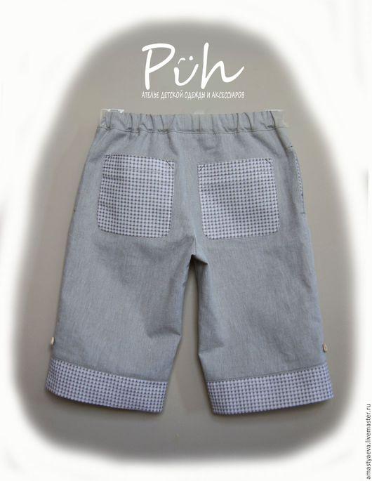 Одежда для мальчиков, ручной работы. Ярмарка Мастеров - ручная работа. Купить Бриджи для мальчика. Handmade. Бежевый, бриджи для мальчика