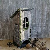 Для дома и интерьера handmade. Livemaster - original item Tea house the Hut of Baba Yaga. Handmade.