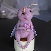 Куклы и пупсы ручной работы. Ярмарка Мастеров - ручная работа Фиолетовая бабочка. Handmade.