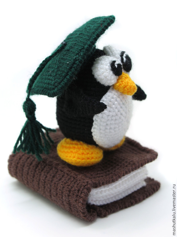 МК Пингвин с книжкой