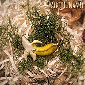 """Украшения ручной работы. Ярмарка Мастеров - ручная работа Брошь """"Банан"""". Handmade."""