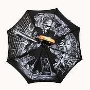 Зонт с росписью Санкт-Петербург
