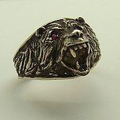 """Кольца ручной работы. Ярмарка Мастеров - ручная работа Кольцо """"Медведь"""". Handmade."""