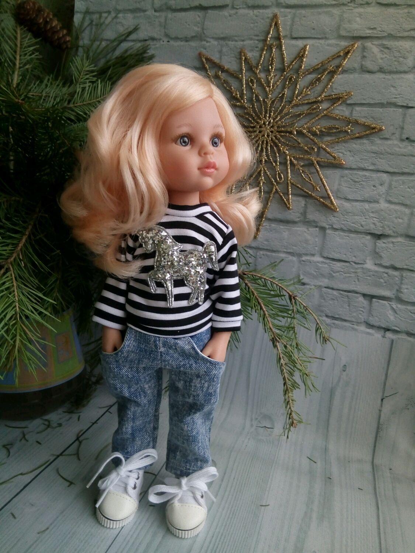 Стильный комплект с единорогом для Паола Рейна, Одежда для кукол, Самара,  Фото №1