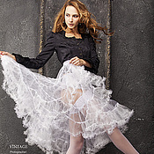 Одежда handmade. Livemaster - original item Underskirt (petticoat) white. Handmade.