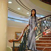 Одежда ручной работы. Ярмарка Мастеров - ручная работа вечернее платье Питон. Handmade.