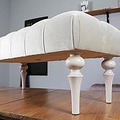 Банкетки ручной работы. Ярмарка Мастеров - ручная работа Банкетка 40/100см. Handmade.