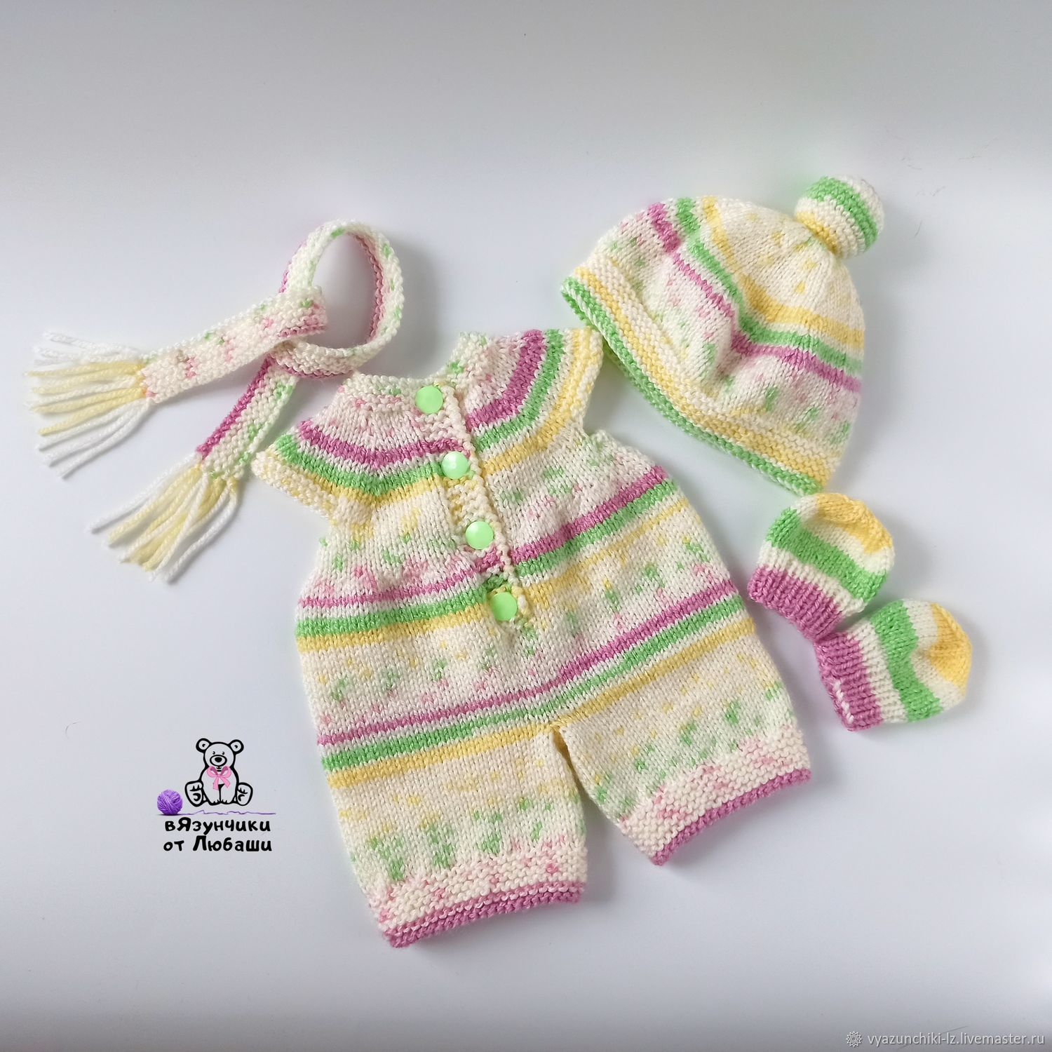 Soft toy clothing dress jumpsuit beanie scarf, Clothes for dolls, Volokolamsk,  Фото №1