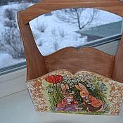 """Для дома и интерьера ручной работы. Ярмарка Мастеров - ручная работа Короб """"Веселые зайчишки"""". Handmade."""
