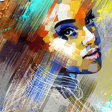 Дизайн и реклама ручной работы. Ярмарка Мастеров - ручная работа Цифровой портрет на заказ. Handmade.