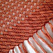 Аксессуары handmade. Livemaster - original item Red shawl. Handmade.