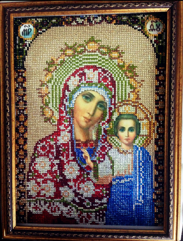 Икона Казанской Божьей Матери, Иконы, Москва, Фото №1