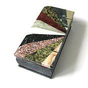 Для дома и интерьера ручной работы. Ярмарка Мастеров - ручная работа Ларчик уральские самоцветы. Handmade.