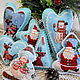 Christmas toys of felt 'greetings from the North pole', Christmas decorations, Chekhov,  Фото №1