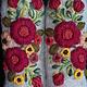 Варежки, митенки, перчатки ручной работы. Варежки с вышивкой   Allegria. Ludmila Batulina (milenaleoneart). Ярмарка Мастеров. Варежки из шерсти