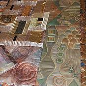 Для дома и интерьера ручной работы. Ярмарка Мастеров - ручная работа Покрывало  Климт для Ирины. Handmade.