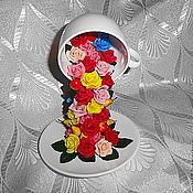 """Подарки к праздникам ручной работы. Ярмарка Мастеров - ручная работа Парящая чашка """"Фруктово-розовый чай для любимой"""". Handmade."""