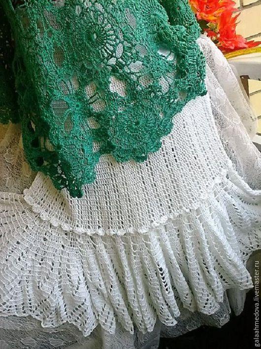 Юбка, авторская юбка, юбка ручной работы, вязание на заказ, летняя юбка, юбка макси, красивая ажурная юбка, вязаная юбка, нарядная юбка, белая юбка, длинная юбка крючком, для женщин