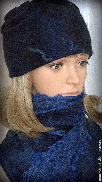Felted Hat fall winter, Caps, Khabarovsk,  Фото №1