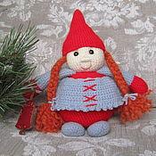 Куклы и игрушки ручной работы. Ярмарка Мастеров - ручная работа Рыжий гном. Handmade.