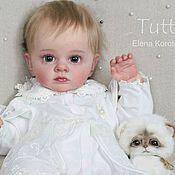 Куклы и пупсы ручной работы. Ярмарка Мастеров - ручная работа Tutti. (молд  Natali Blick). Handmade.