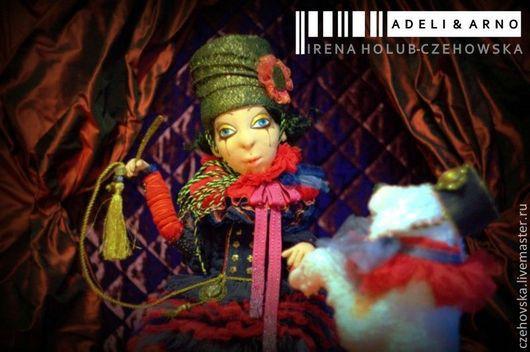 Коллекционные куклы ручной работы. Ярмарка Мастеров - ручная работа. Купить Adeli & Arno. Handmade. Артисты, текстильная кукла