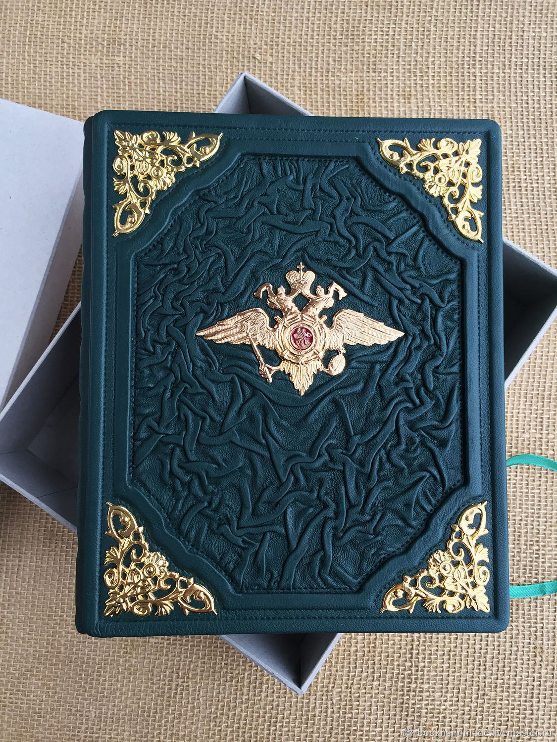Diary in leather bound, Diaries, Moscow,  Фото №1