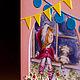 """Открытки к Новому году ручной работы. Заказать Открытка """"Ждём Деда Мороза"""". Anna's boxes and greeting cards. Ярмарка Мастеров."""