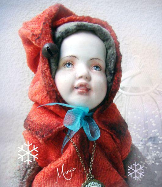 Коллекционные куклы ручной работы. Ярмарка Мастеров - ручная работа. Купить гномик Огонек. Handmade. Гном, коллекционная кукла, разные