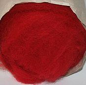 Кардочес 3001 50 гр. Шерсть для валяния Новозеландский кардочес