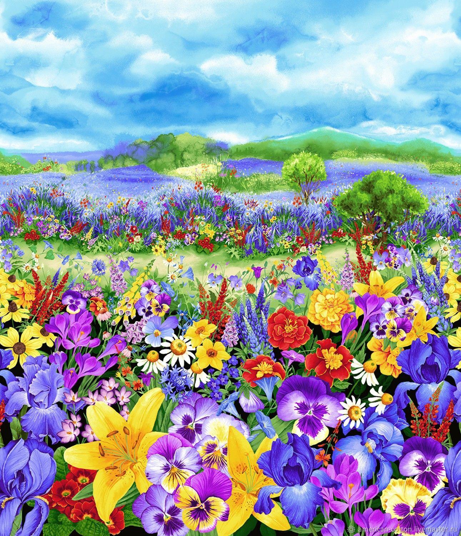 удобно купить поляна цветов рисунок для рэтнт режим