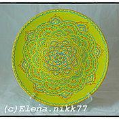 Посуда handmade. Livemaster - original item Platter Light Green. Handmade.