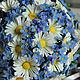 """Свадебные цветы ручной работы. Букет невесты из полимерной глины """"Я и ты"""". ~~~Евгения~~~. Ярмарка Мастеров. Незабудки, полевые цветы"""