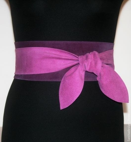 """Пояса, ремни ручной работы. Пояс-кушак """"Violet MIX 4"""". Lanita Design. Ярмарка Мастеров."""