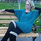Кофты и свитера ручной работы. Ярмарка Мастеров - ручная работа. Купить пуловер вязаный ажурный для Елены. Handmade. Морская волна