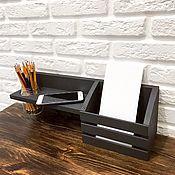 handmade. Livemaster - original item Key holder wall shelf. Handmade.